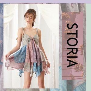 STORIA Poplar Paisley Layered Hem Dress IS BACK!